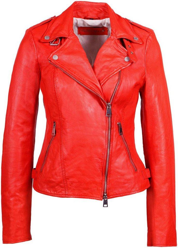 freaky nation -  Lederjacke »New Undress Me!-FN« Bikerjacke mit coolen Zipper-Details