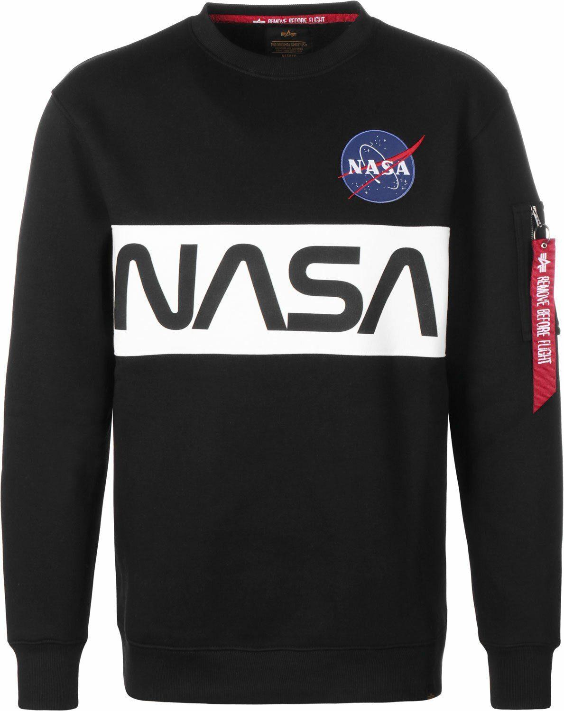 Alpha Industries Sweatshirt »NASA Inlay Sweater« | OTTO