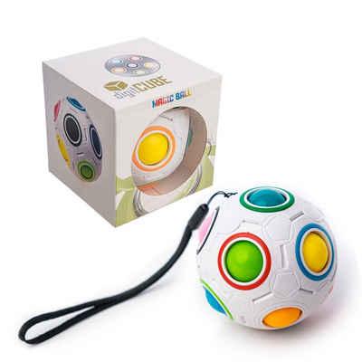 digitCUBE Puzzleball »Magic Ball Puzzle - Regenbogenball Spielzeug - Geschicklichkeitsspiel für Mädchen und Jungen«, Puzzleteile