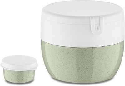KOZIOL Lunchbox »BENTOBOX M«, Kunststoff, (1-tlg), spülmaschinengeeignet, melaminfrei, 400 ml