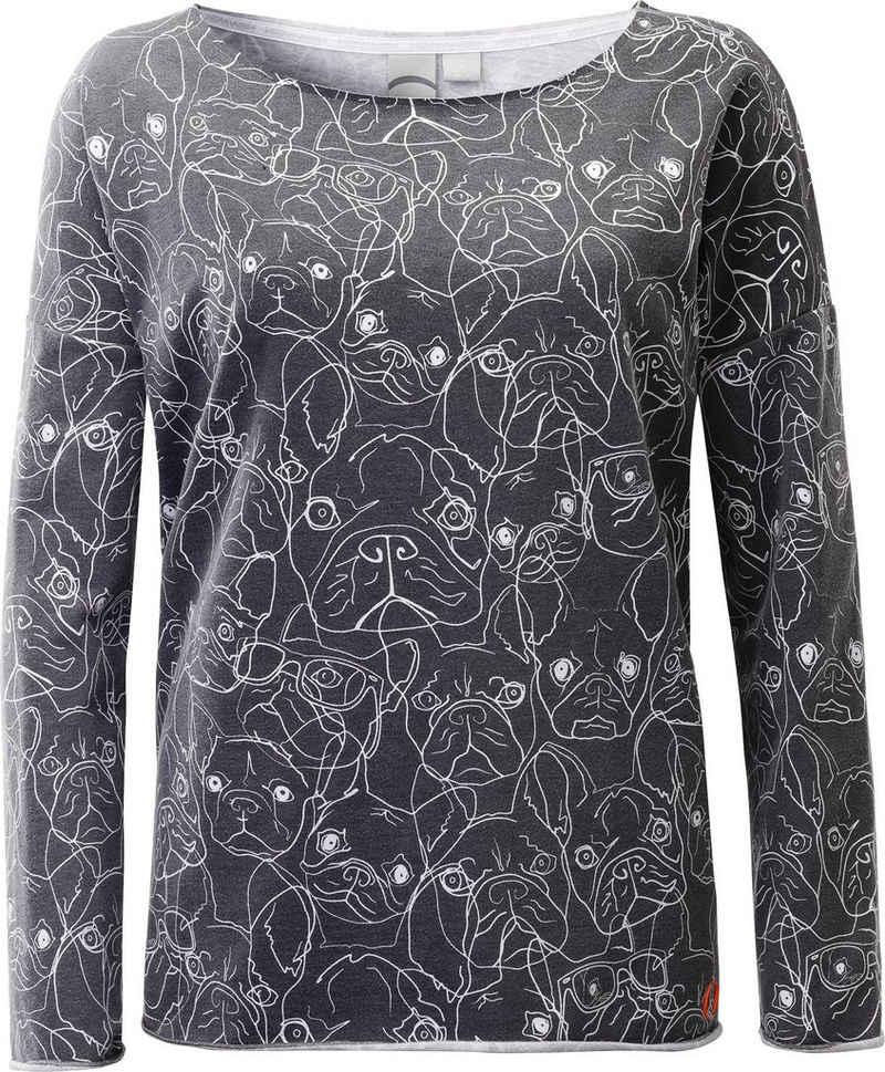DEPROC Active Kapuzensweatshirt »SWEAT SOPHIE WOMEN« modischer Allover-Print