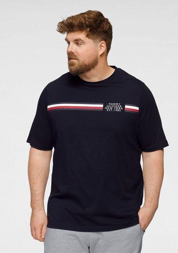 Tommy Hilfiger Big & Tall T-Shirt »BT-CORP SPLIT TEE-B«