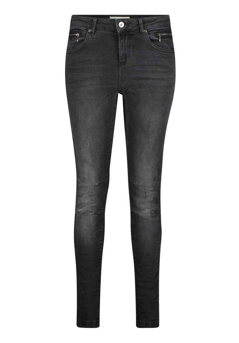 Cartoon 5-Pocket-Jeans »Slim Fit« Black denim