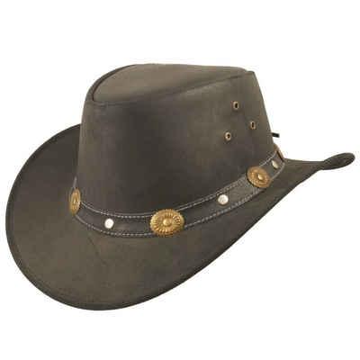 Scippis Cowboyhut »Australian Westernhut Reno in Echtleder«
