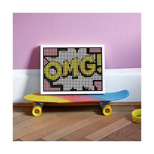 Dot On Malvorlage »dot on art - comic - omg, 30 x 70 cm«