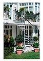 Dolle Außentreppe »Gardenspin«, für Geschosshöhen bis 276 cm, Stufen offen, Ø: 125 cm, Bild 1