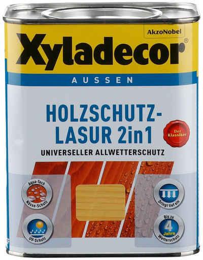 Xyladecor Holzschutzlasur »2in1«, 0,75 Liter, grün