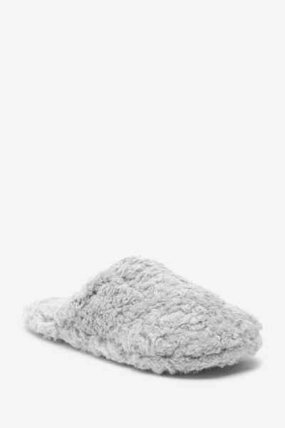 Next »Hausschuhe aus recyceltemFellimitat« Hausschuh (1-tlg)