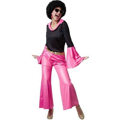 tectake Hippie-Kostüm »Frauenkostüm Disco Sternchen«