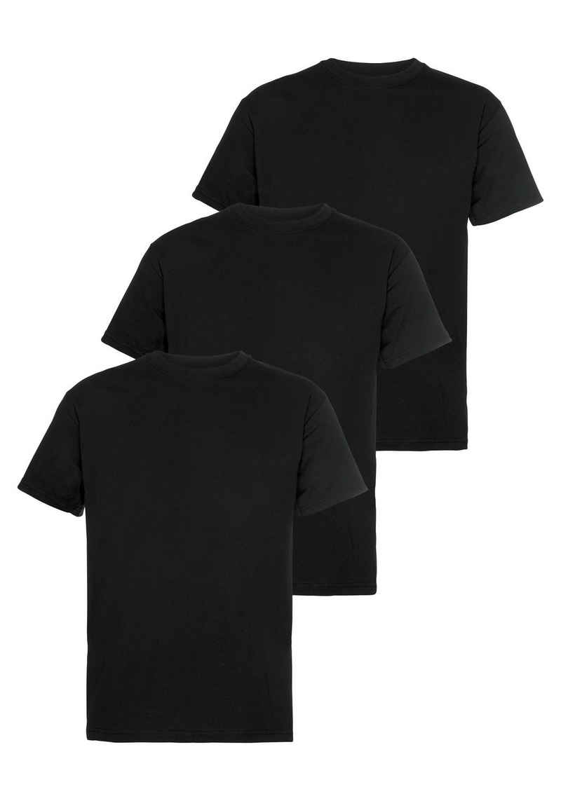 Fruit of the Loom T-Shirt (Packung, 3-tlg) mit Rundhalsausschnitt