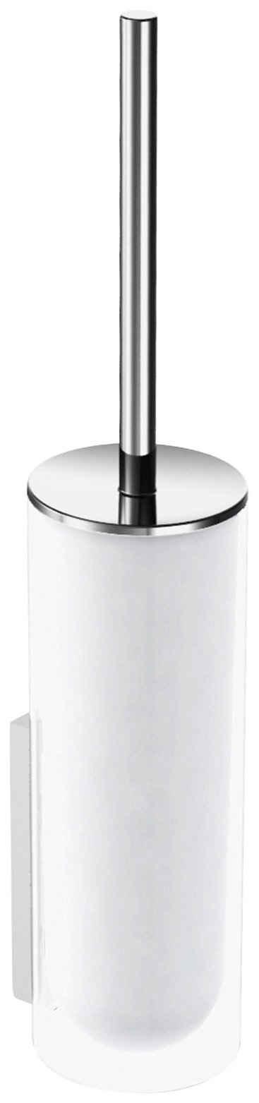 WC-Garnitur »Edition 400«, Keuco, Echtkristall-Glas mattiert, verchromt