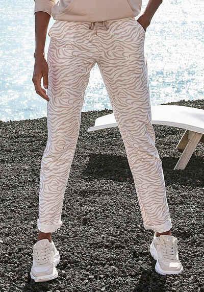 LASCANA Loungepants mit modischem Umschlagsaum