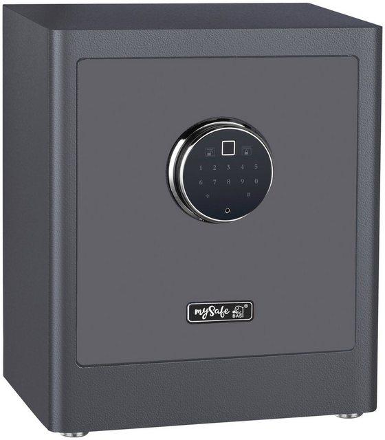 BASI Möbeltresor »mySafe Premium 350 - Code & Fingerprint«, Elektronikschloss mit Code und Fingerprint