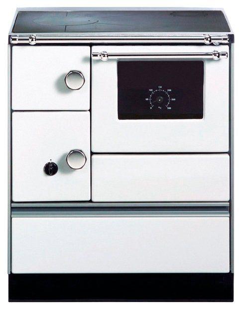 Westminster Festbrennstoffherd K 176 5 kW, Dauerbrand, weiß
