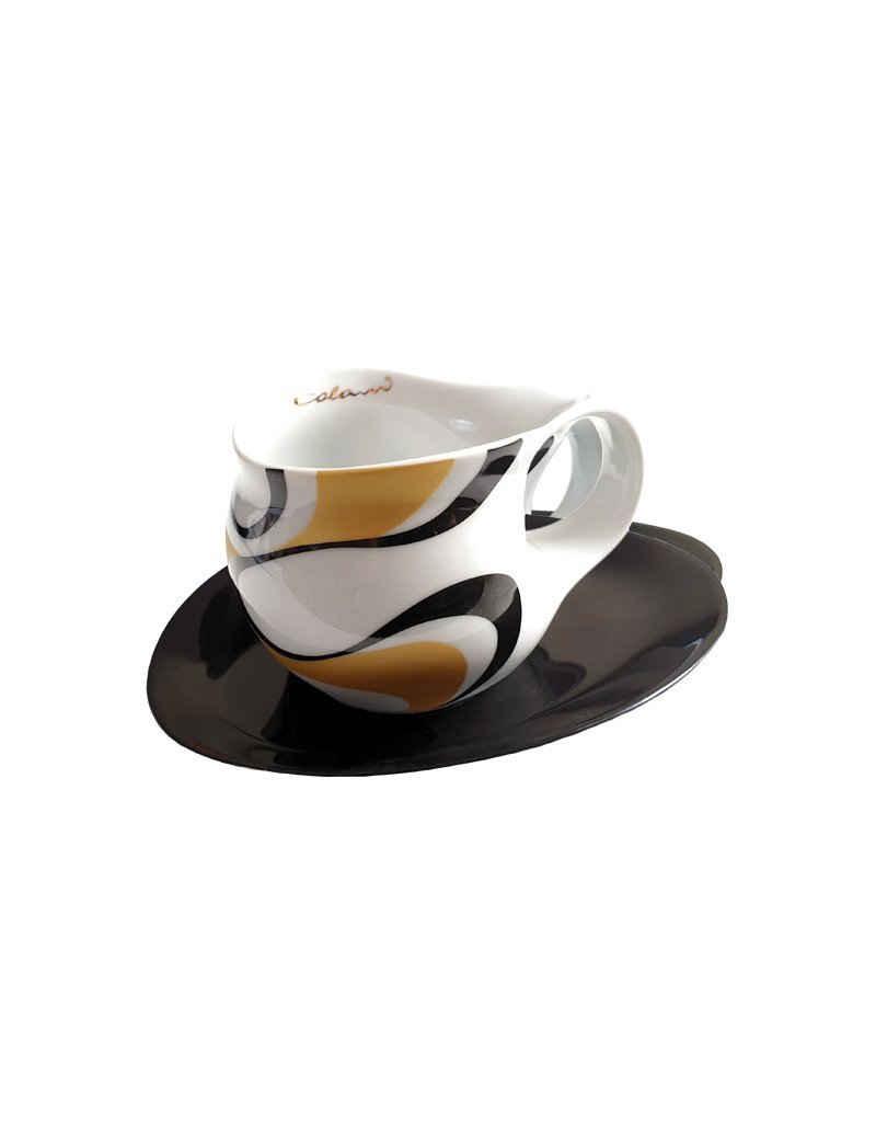 Colani Espressotasse »Luigi Colani Espressotasse + Untertasse, groß«, Porzellan
