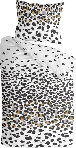 Bettwäsche »Jungle Rocks«, Byrklund, mit Leopardendruck