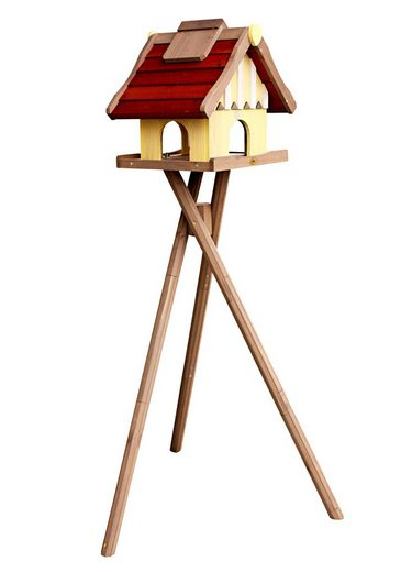 Habau Vogelhaus »Norwegen«, BxTxH: 35x44x40 cm, mit Standbein