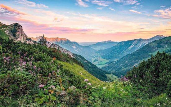 KOMAR Vliestapete »Alps«
