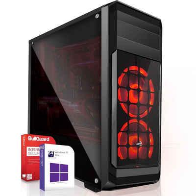 SYSTEMTREFF Basic Edition 90135 Gaming-PC (AMD Ryzen 3 4300G AMD Ryzen 3 4300G, AMD Radeon RX Vega - 6 Core, 16 GB RAM, 2000 GB HDD, 512 GB SSD)