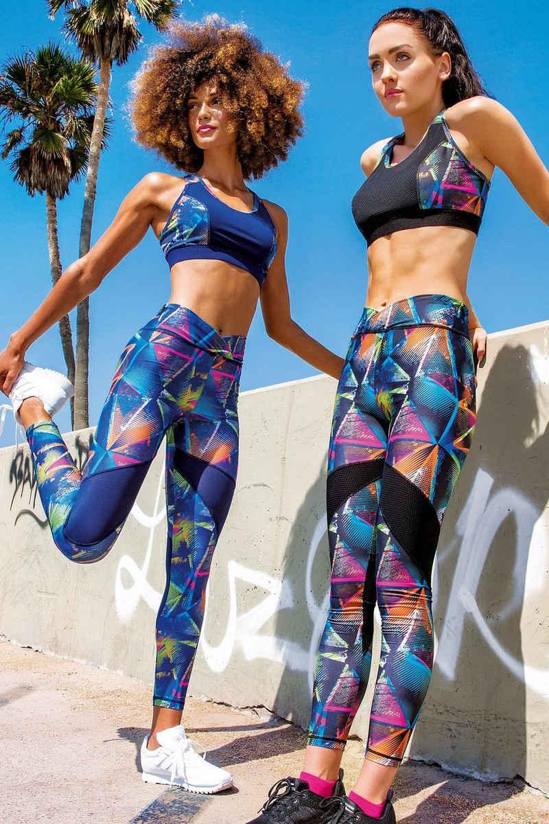 yeni inci Highwaist Leggings »Sport und Streetwear Leggings Damen« Hoher Bund Push Up Sport Yoga leggings
