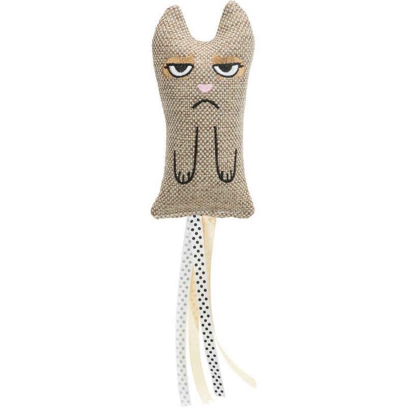 TRIXIE Tier-Beschäftigungsspielzeug »Katze XXL Fransen«, Polyester