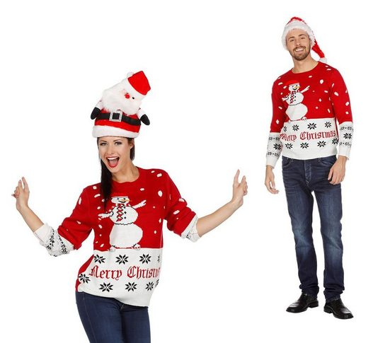wilbers pullover  shorts »wilbers weihnachtspullover