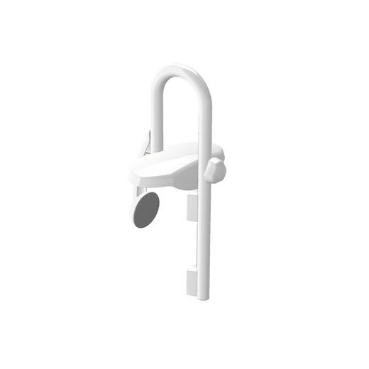 spirella Badewannen-Einstiegshilfe VIVAWELL, belastbar bis 120 kg, Hochwertiger Stahl pulverbeschichtet, Rostfrei, Ergonomisch und anwendungsfreundlich, Passt auf jede handelsübliche Badewanne: Verstellbereich Wannendicke 55-110 mm