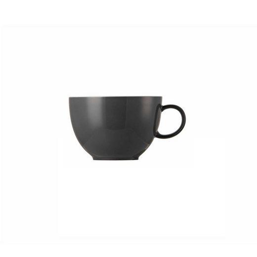 Thomas Porzellan Tasse »Sunny Day Grey Tee-/Kombi-Obertasse«, Porzellan