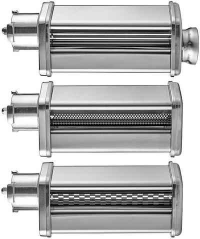 Gastroback Nudelwalzenvorsatz 90763, 3 tlg., Zubehör für Gastroback Design Küchenmaschine 40977