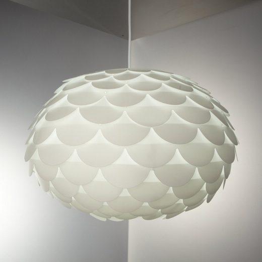 B.K.Licht LED Pendelleuchte »Artemis«, LED Hängeleuchte Puzzle Lampe Blume E27 Kinderzimmer Wohnraum Ø46cm