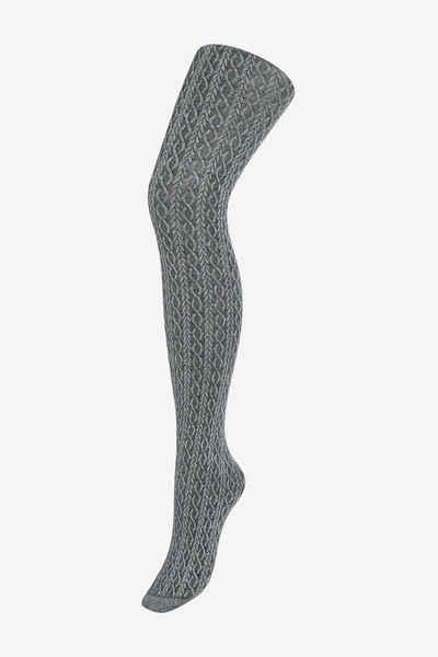 Next Umstandsstrumpfhose »Strickstrumpfhosen mit Zopfmuster, Umstandsmode« (1 Stück)