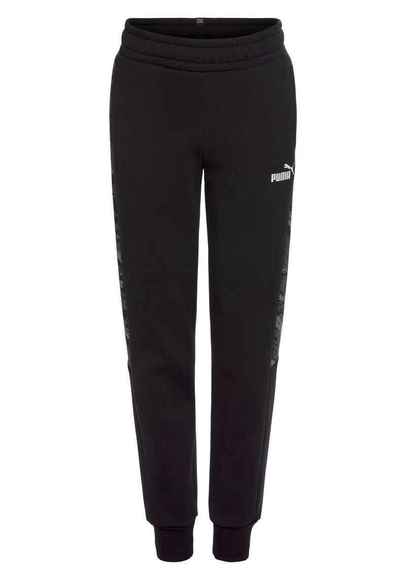 PUMA Jogginghose »Graphic Sweatpants Fleece«