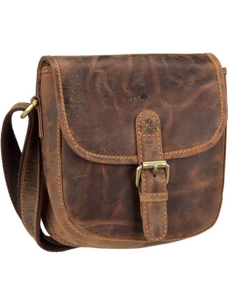 Greenburry Umhängetasche »Vintage 1630 Jagdtasche«, Umhängetaschen Hochformat