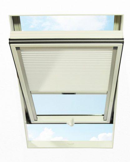 Dachfensterplissee, RORO Türen & Fenster, blickdicht, in Führungsschienen, BxH: 54x78 cm