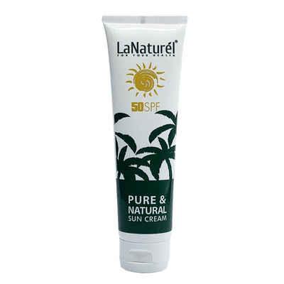 Sonnenschutz »Sonnencreme LSF 50 100ml Schützt die Haut, Spendet Feuchtigkeit für Gesicht und Körper«, LaNaturel