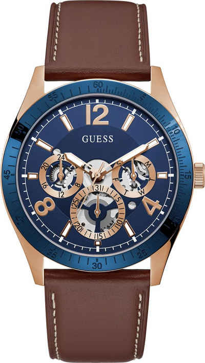 Guess Multifunktionsuhr »VECTOR, GW0216G1«