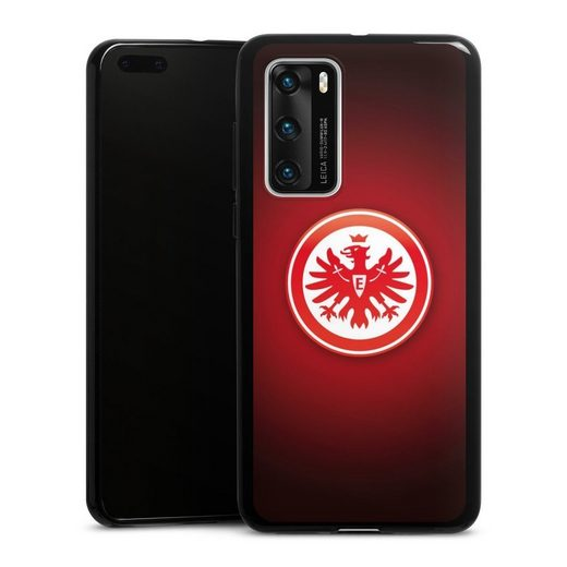 DeinDesign Handyhülle »Eintracht Frankfurt« Huawei P40, Hülle Eintracht Frankfurt Offizielles Lizenzprodukt Wappen
