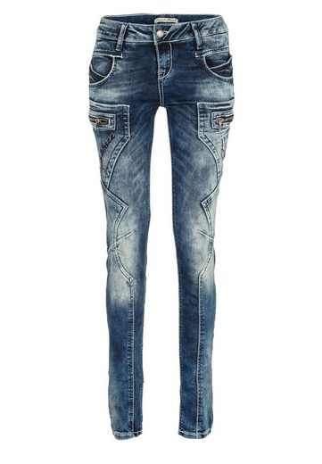 Cipo & Baxx Bequeme Jeans »Imagine« mit niedriger Taille in Skinny Fİt
