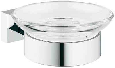Grohe Seifenhalter »Essentials Cube«, Breite: 11,5 cm, Ø 11 cm, 2-St.