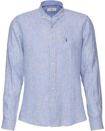 Almsach Trachtenhemd »Stehkragenhemd aus Leinen«