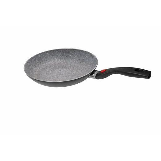 BALLARINI Bratpfanne »Pfanne, flach Click and Cook Granitium«, Aluminium (1-tlg), perfekte Hitzeverteilung