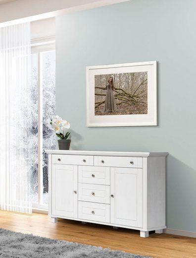 Home affaire Kommode »Tracy«, aus Kiefer massiv, Breite 125,5 cm