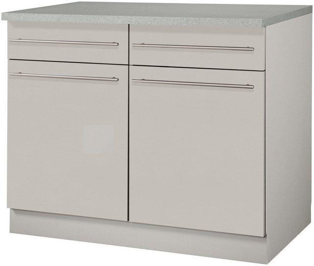 Küchenschränke - wiho Küchen Unterschrank »Chicago« 100 cm breit  - Onlineshop OTTO