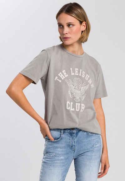 MARC AUREL T-Shirt mit sportlichem Frontprint