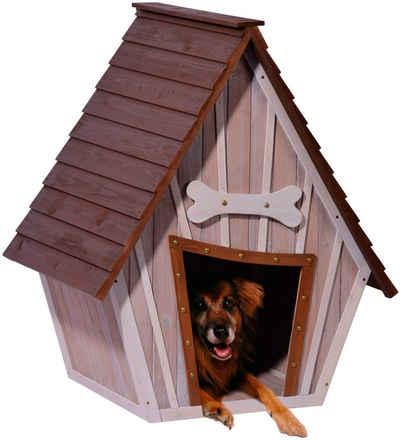 dobar Hundehütte »XL«, BxTxH: 90x77x109 cm