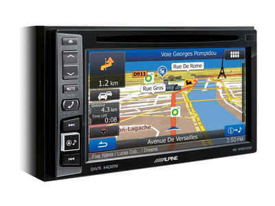 ALPINE Audio-System (Alpine INE-W611D, 2-DIN 6,5 Zoll Navigationssystem, Apple Car Play - Android Auto Autoradio)
