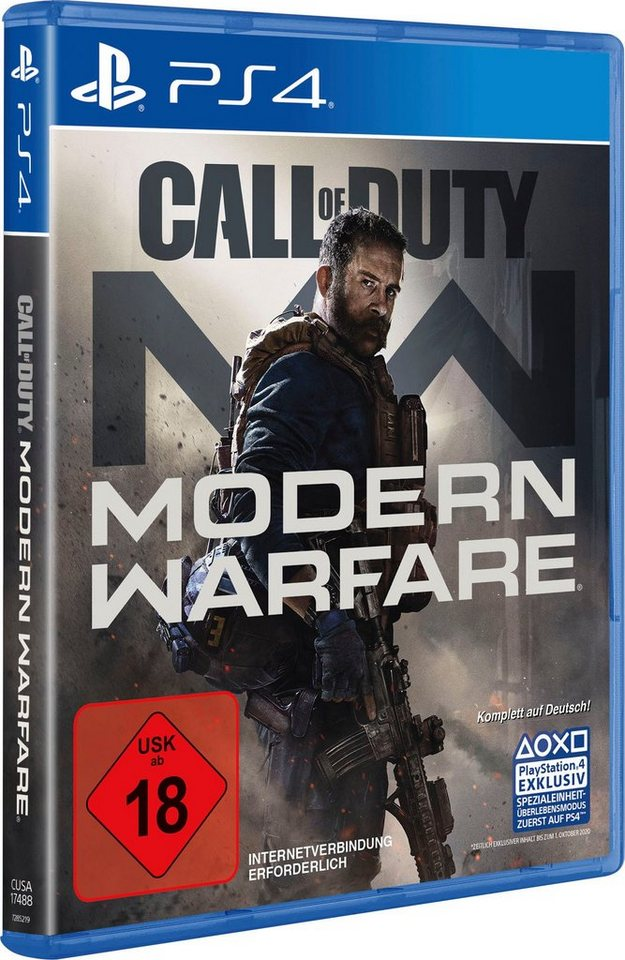 Call of Duty Modern Warfare PlayStation 4