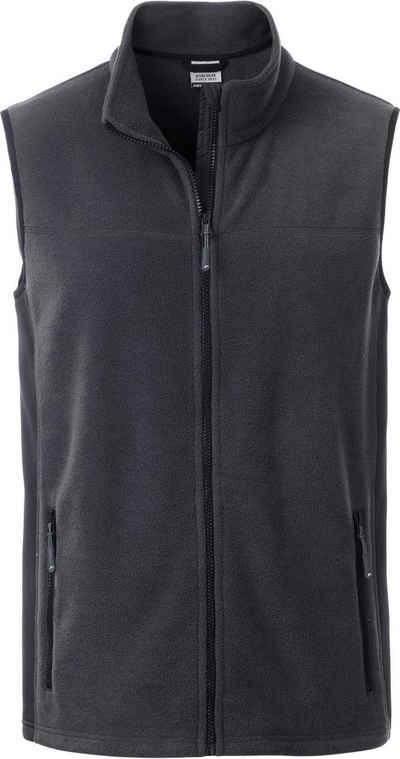James & Nicholson Fleeceweste »Workwear Fleece Gilet Weste FaS50856 auch in großen Größen«