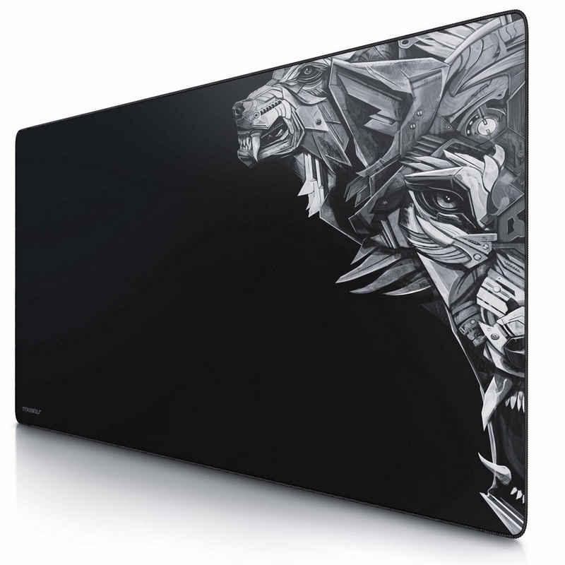 Titanwolf Gaming Mauspad, XXXL Speed Gaming Mauspad Mousepad 1200 x 600 mm