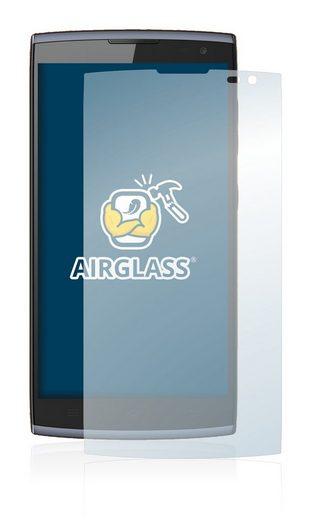 BROTECT Schutzfolie »Panzerglasfolie für Orange Nura«, Schutzglas Glasfolie klar